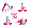 Baby yoga set