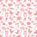Babyish seamless pattern Stock Images