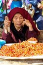Bac Ha Farmers Market Vietnam Royalty Free Stock Photography