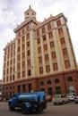 Bacardi Building is an Art Deco building in Havana, Cuba Royalty Free Stock Photo