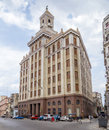 Bacardi building, Havana, Cuba Royalty Free Stock Photo
