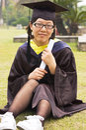 Bachelor of China Royalty Free Stock Photos