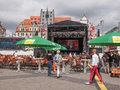 Bachfest leipzig germany june people at the annual summer music festival celebrating baroque musician johann sebastian bach in his Royalty Free Stock Image