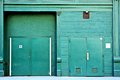 Back Alley Door Royalty Free Stock Photo