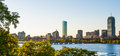 Back Bay and Charles River Afternoon Royalty Free Stock Photo