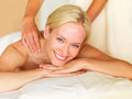 Back massage Royalty Free Stock Images