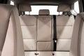 Back passenger seats in modern car. Royalty Free Stock Photo