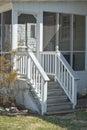 Back Porch Royalty Free Stock Photo