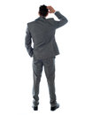 Back-pose Of A Corporate Perso...