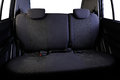 Back seats car isolated Royalty Free Stock Photo