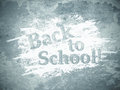 Back to school abstract grunge wall background Stock Photography