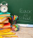 Back to school accessories Royalty Free Stock Photo