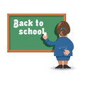 Back to school authors illustration in vector Royalty Free Stock Images