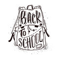 Back to school b-w