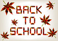 Back to school background Royalty Free Stock Photo