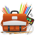 Back to school background illustration Stock Photo