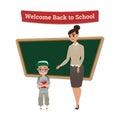 Back to School cartoon Characters