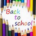 Back to school colos Royalty Free Stock Photography