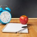 Back to school composition Royalty Free Stock Photo