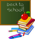 Back to School Design Elements Royalty Free Stock Photography