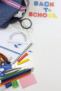 Back to school education background Royalty Free Stock Image