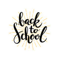 Back to school. Hand drawn illustration