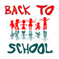 Back to school kids 2 Royalty Free Stock Photo