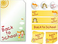 Back to School  Kit Royalty Free Stock Image
