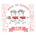 Back to School Sale.