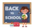 Back To School. Schoolgirl, Ch...