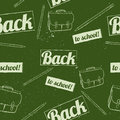 Back to school seamless pattern vector illustration eps Stock Photos