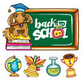 Back to school series Royalty Free Stock Photo