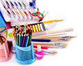 Back to school supplies. Stock Image