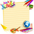 Back to School Template Stock Images