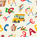 Back to school tools and supplies Royalty Free Stock Image