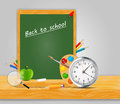 Back to school vector background this is file of eps format Royalty Free Stock Photos