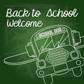 Back to school welcome Royalty Free Stock Photo