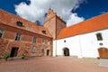 Backaskog castle Stock Photo