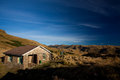 Backcountry hut old in new zealand Royalty Free Stock Images