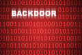 Backdoor Abstract Background Royalty Free Stock Photo
