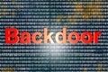 Backdoor Royalty Free Stock Photo