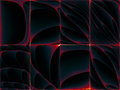 Backdrop fractal grid curves subject science education technology Royalty Free Stock Photo