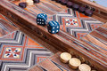 Backgammon Royalty Free Stock Images