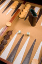 Backgammon Game Royalty Free Stock Photo