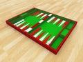 Backgammon set Royalty Free Stock Photo