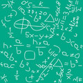 Backgound de maths Image stock