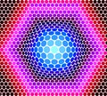 Background from circles of multi-colored