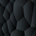 Background abstract black vector creative design coal graphite style polygon template Stock Photo