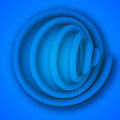 Background abstract blue the illustration contains transparency and effects eps Royalty Free Stock Photo