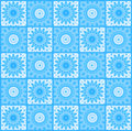 Background with abstract blue pattern Stock Image